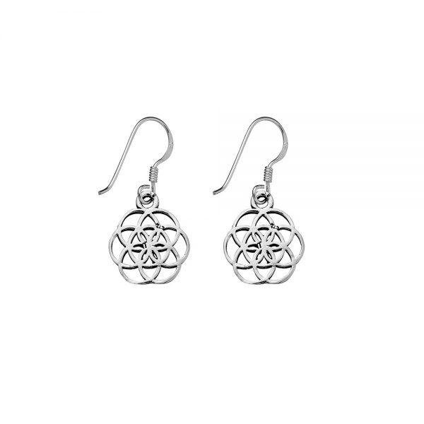 seed of life earrings