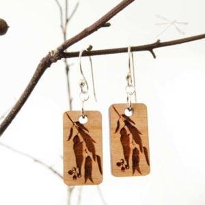 eucalypt earrings