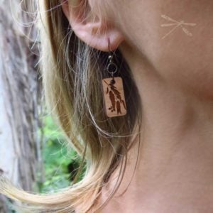 eucalypt earrings