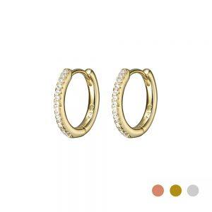 Gold Huggie Sleeper earring