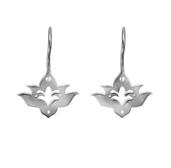bloomed lotus earring