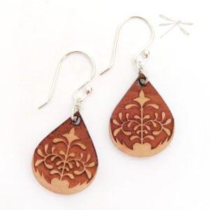 lotus petal earring2