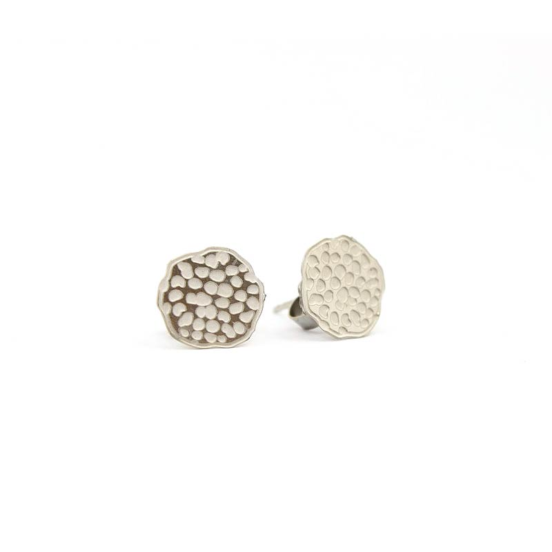 Lotus Pod Stud Earrings Jodee Creations