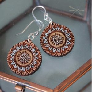 Mandal Sunrise earrings