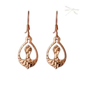 Nurture Rose Gold earrings