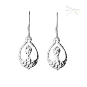 Nurture sterling silver earrings