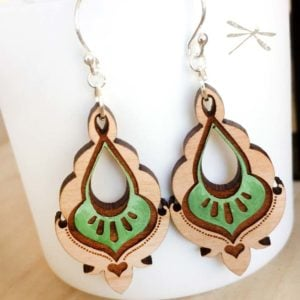 pyara earring green