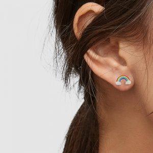 rainbow stud