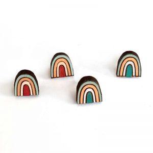 Rainbow Studs