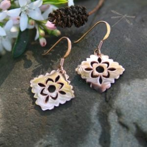 rose gold earrings intuition