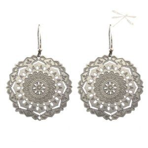 Shanti Mandala Earrings
