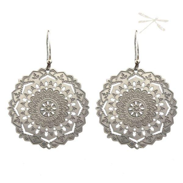 Shanti Mandala Earrings