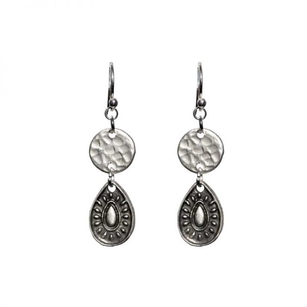 Shine Disc earring