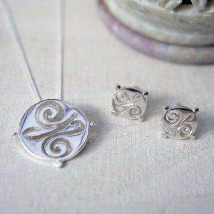 earring pendant set