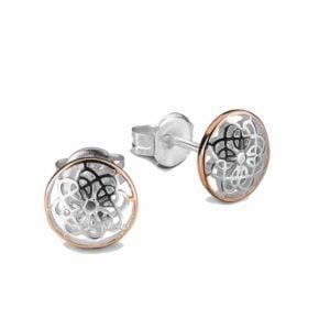 Mandal stud earring