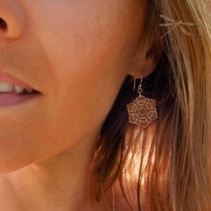 mandala earring