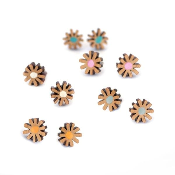 daisy studs group shot