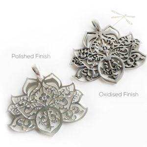 2 styles lotus pendant