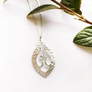 Silver Nurture pendant