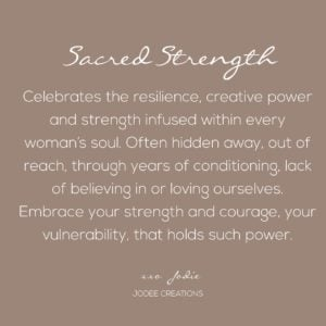 sacred strength meaning