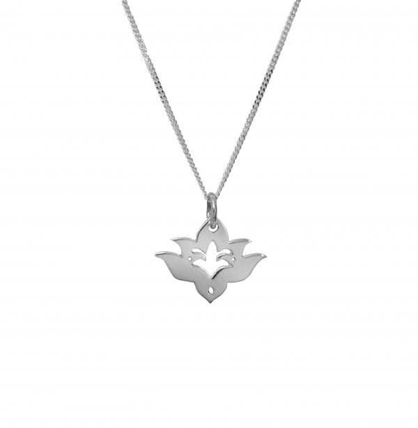 Small Lotus Pendant