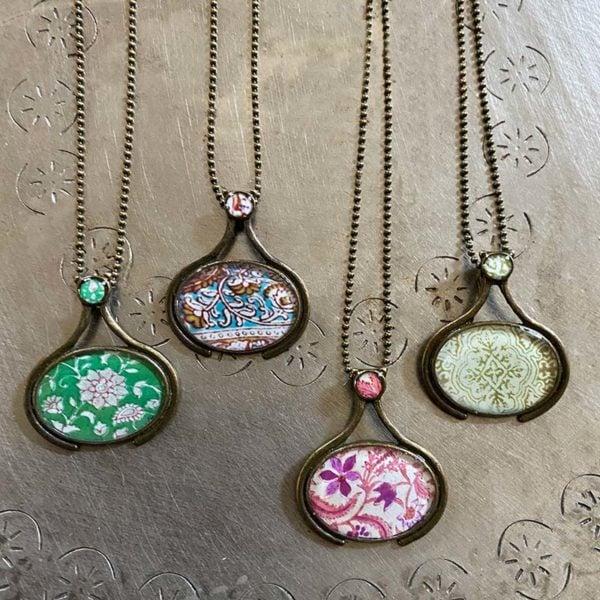 cameo pendants