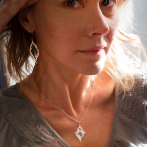 embodied goddess pendant