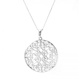 entwined mandala pendant