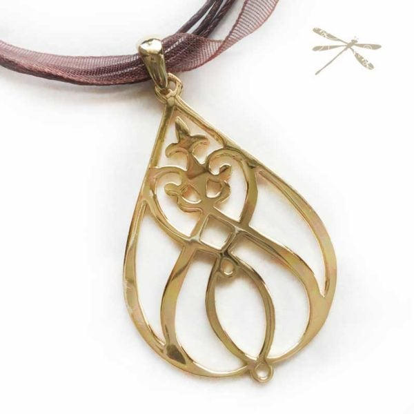 heartfelt God pendant