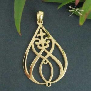 heartfelt Gold pendant