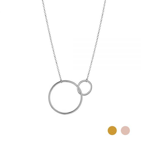circles necklace
