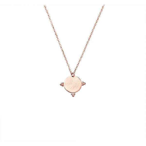rose gold necklce