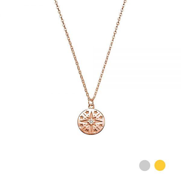 Nova pendant rose gold