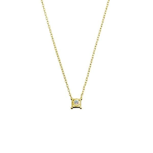 gold Athena pendant