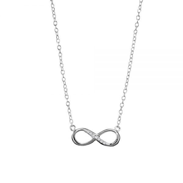 silver infinity pendnan