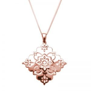 Rose Gold Intuition Pendant