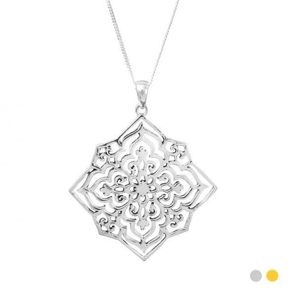 star anusha necklace
