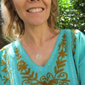 waterlily lotus pendant
