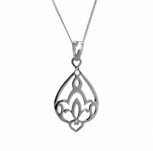 waterlily lotus Pendant