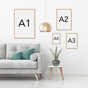 Frame Size options