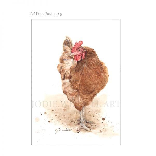 Art Print Chicken