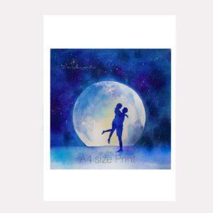 moon Lovers print