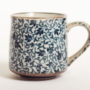 Blue Kusa tea cup