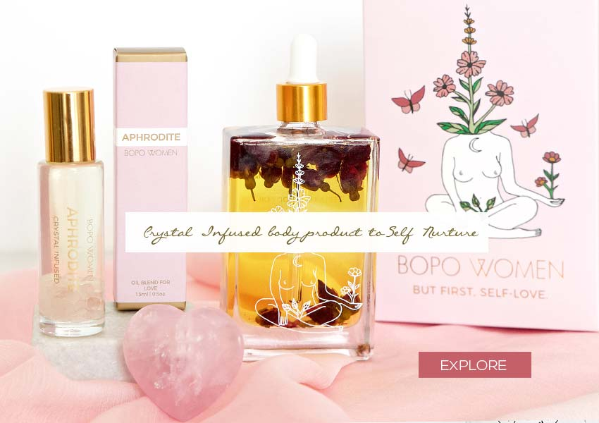 Bopo crystal infused oils